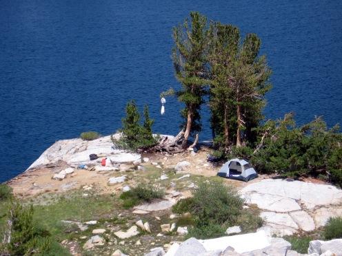 McGee Lake Campsite